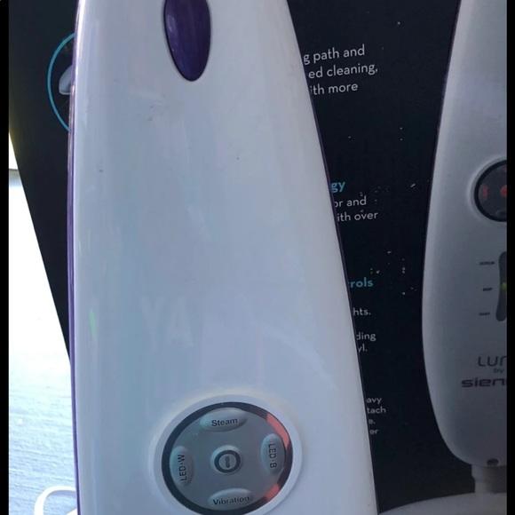 Vacuum steamer